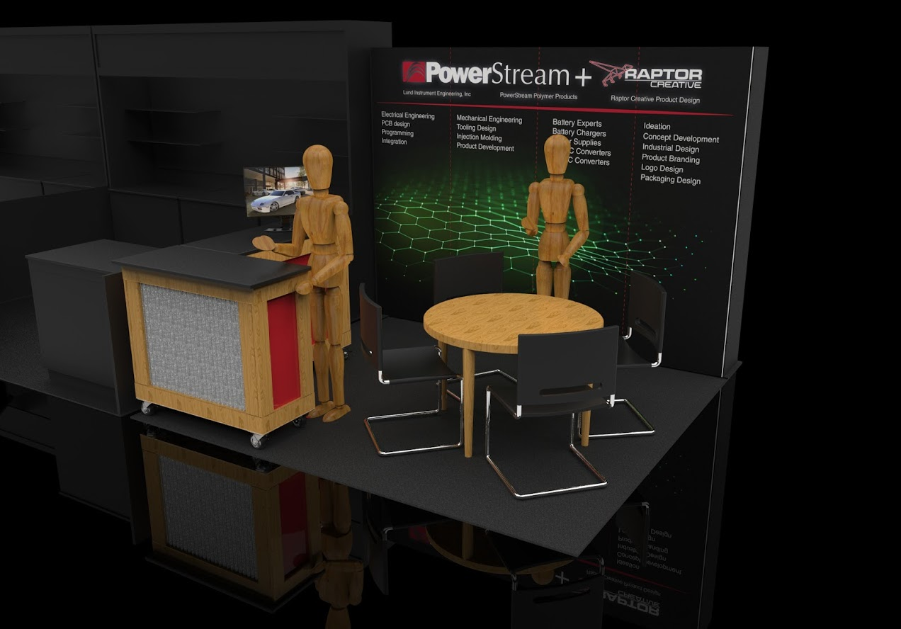 CES Booth Design 10x10