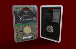 Caviar Blister Package Design