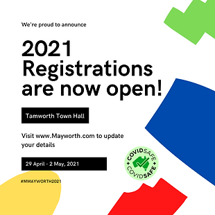 2021 - Announcement -  Registrations Ope