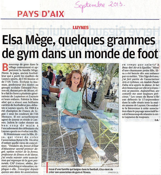 Professeur elsa mege article presse