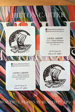 Odyssey Bookstore Business Cards