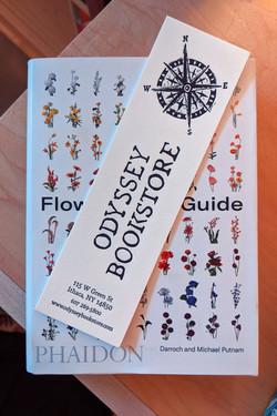Odyssey Bookstore Letterpress Bookmark