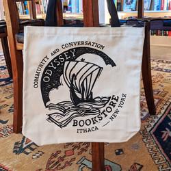 Odyssey Bookstore Canvas Bag