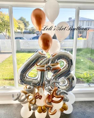 48th Grand balloon bouquet