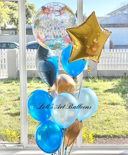 Happy Birthday Bubble bouquet