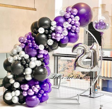 21st Birthday setup