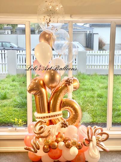 16th Birthday Grand Balloon Bouquet