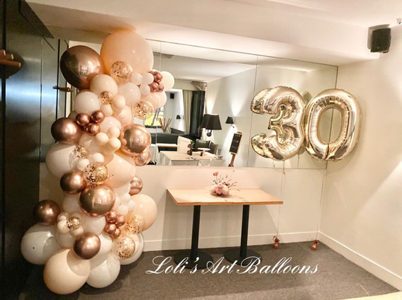 Light colors for 30th birthday