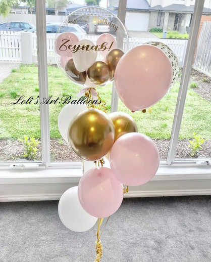 Personalized Balloon bouquet