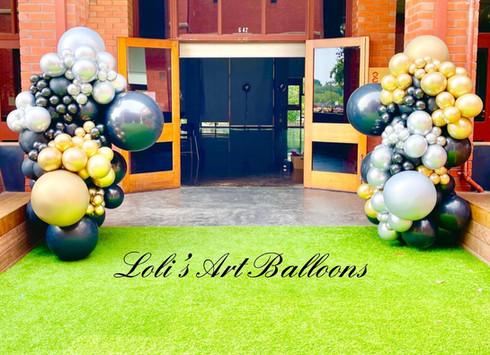 Cocktail party Balloon Columns