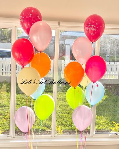Rainbow Balloon Bouquet