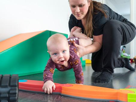 Specialiseret fysioterapi til spædbørn og børn