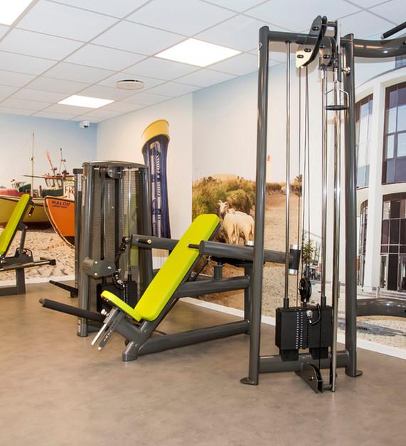 Træningsfaciliter. Østergade