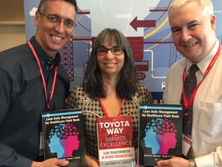 New Lean Books Make Splash at IISE Conference!
