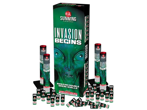 Invasion Begins