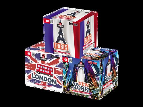 London/Paris/New York