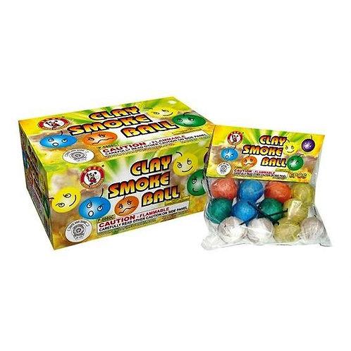 Color Smoke Ball Clay