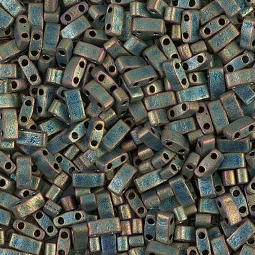Half Tila Matte Metallic Patina Iris (HTL-2008)