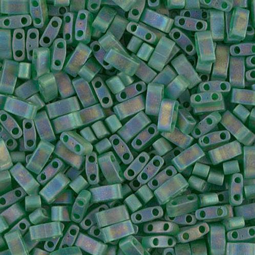 Half Tila Matte Transparent Green AB (HTL-146FR)