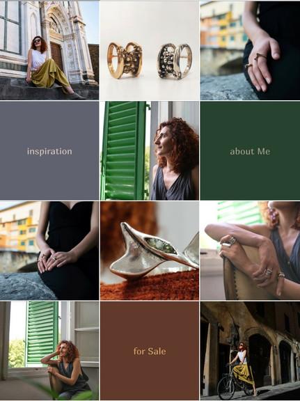 Визуал / контент для ювелира и дизайнера ювелирных украшений [Instagram]