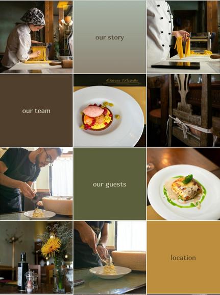 Визуал и контент для ресторана в Instagram