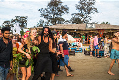 reportage from Freak parade and fish market in Goa, India
