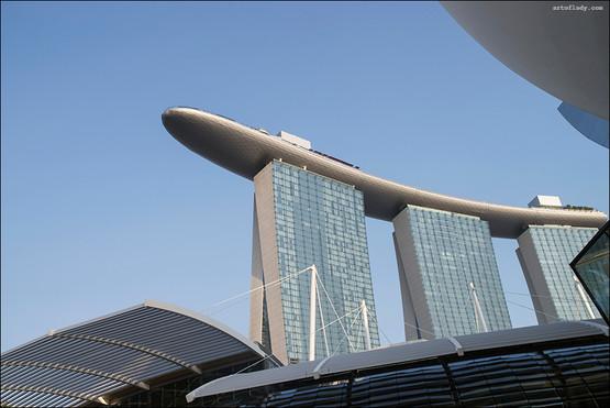 reportage from Singapore, Marina Bay hotel