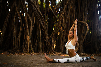 yoga and other workouts in Florence, Tuscany, Italy
