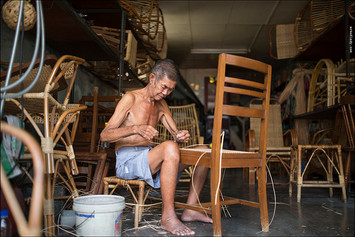 photo story about people and real life in Penang, Malaysia