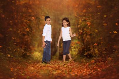 Holiday kids portrait