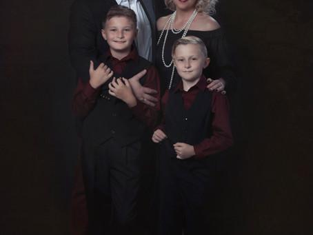 Family Art Portrait