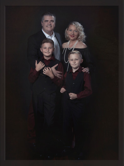 Family Fine Art Portrait