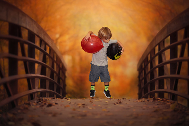Holoday child photography