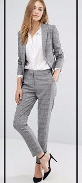 The checked suit