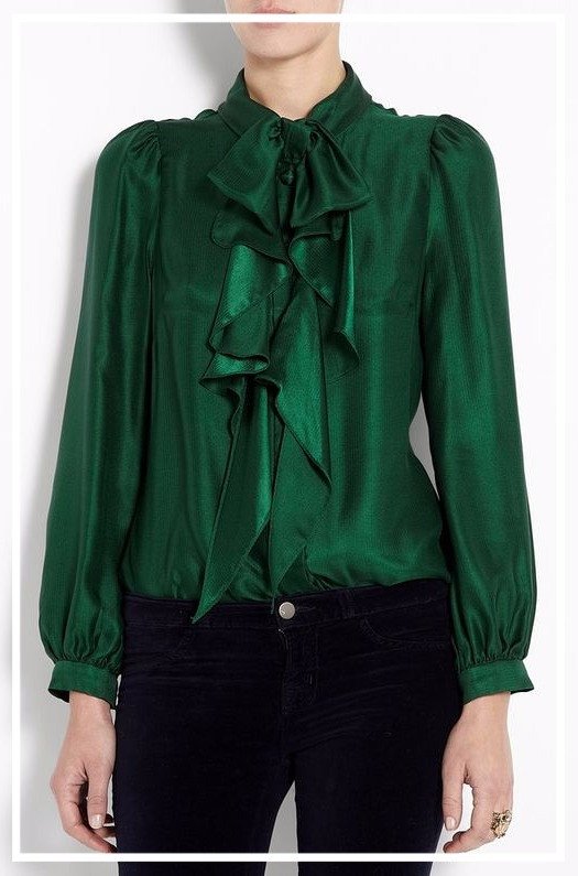 2016 Countdown- One Style each day: Day 7- Go green!