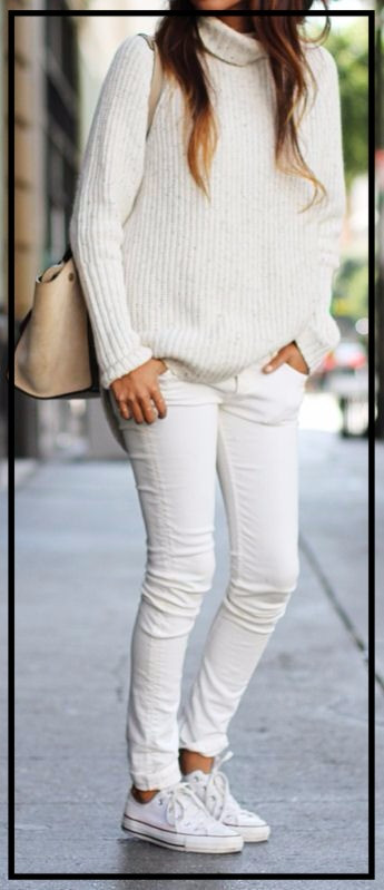 2016 Countdown- One Style each day: Day 5- All white!