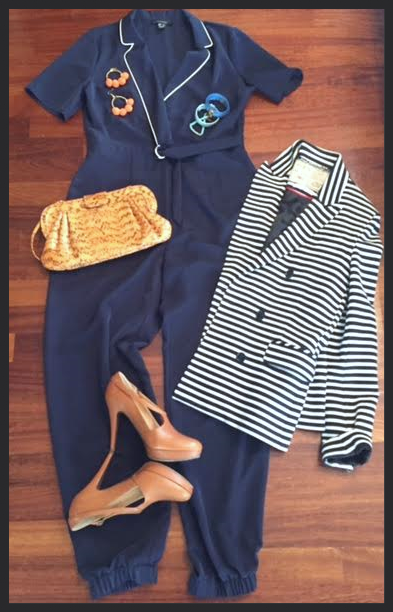 Styling a Nautical Jumpsuit