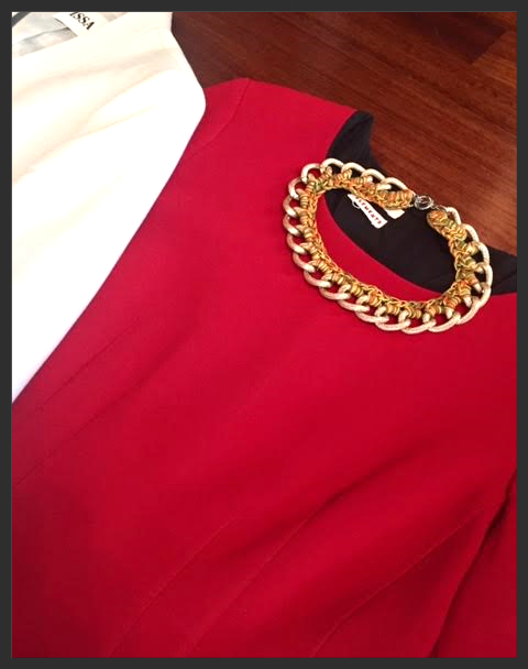 Red dress @work
