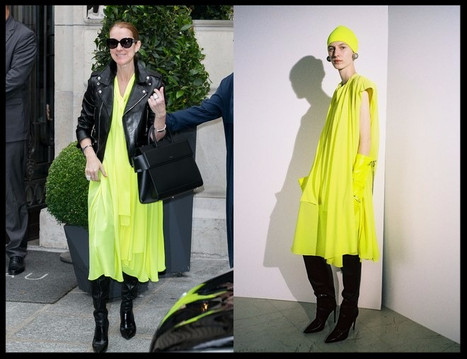 Celine Dion: how to become a fashionista!