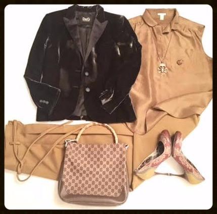 Velvet Jacket @work