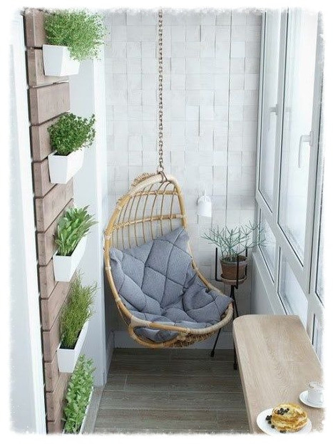 Small balcony, amazing ideas!
