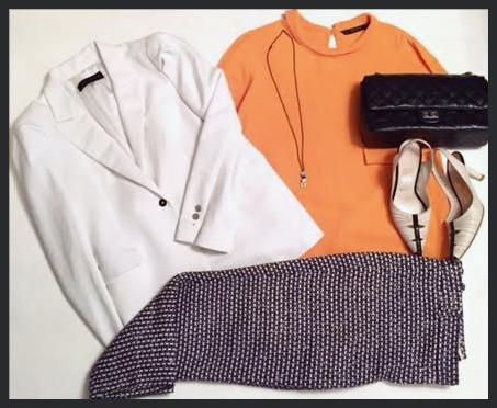 White blazer @work