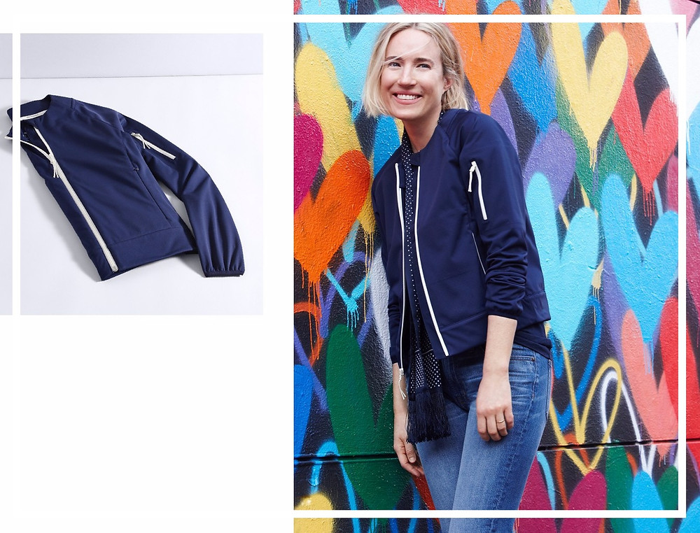 Athleisure: happiness and confidence