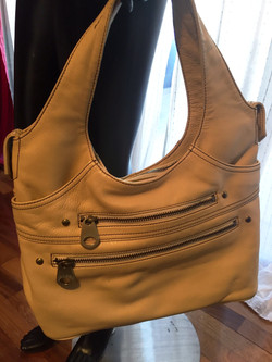 Marc Jacobs light yellow bag