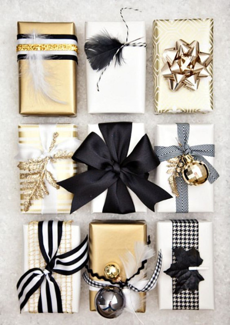 16 Amazingly Inspired Gift Wrap Ideas