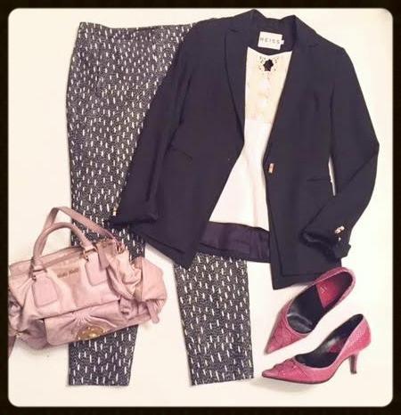 Tailored Blazer @work