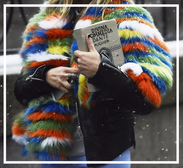 Must Buy! WOW Colorful fake furs