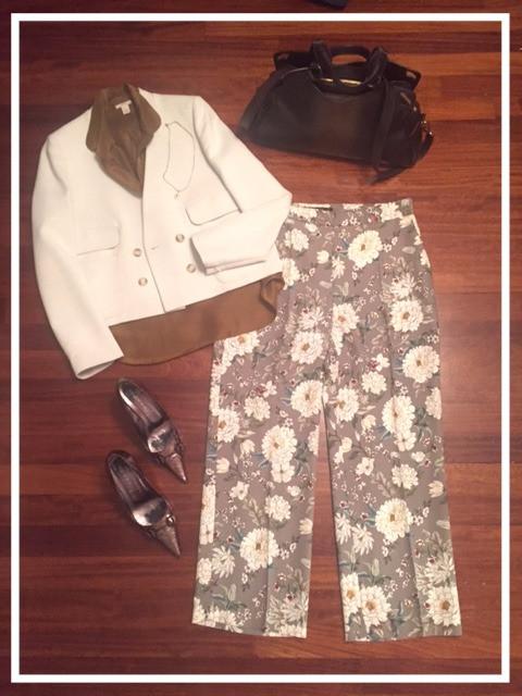 Floral pants!