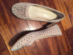 Flat shoes with strass