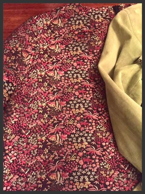 Brocade dress @work